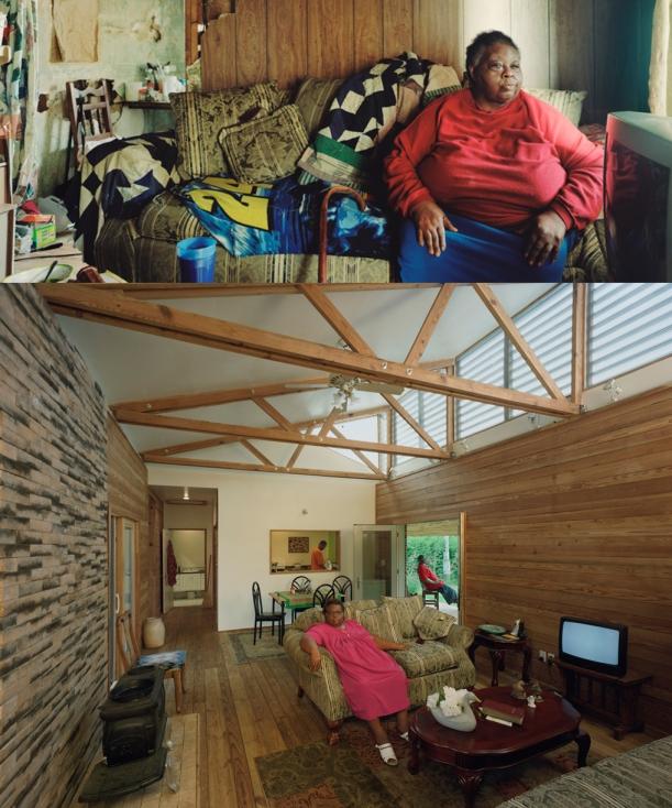 Rose Lee house, Rural Studio, foto di Timothy Hursley