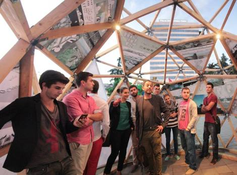 geodesic dome - workshop
