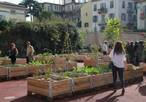 Orto Sociale dell' Associazione Community Garden, Firenze