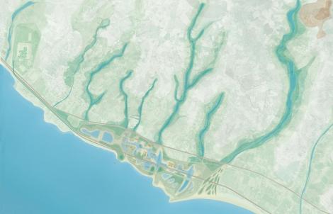 SalineJoniche: Masterplan dell'area ©AutonomeForme