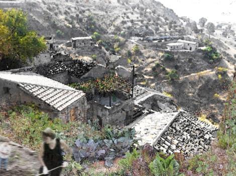 SalineJoniche: Riabitare le rovine: gli orti urbani nel borgo di Pentedattilo ©AutonomeForme