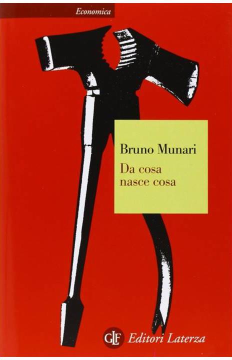 """Copertina del libro di Bruno Munari """"da cosa nasce cosa"""""""