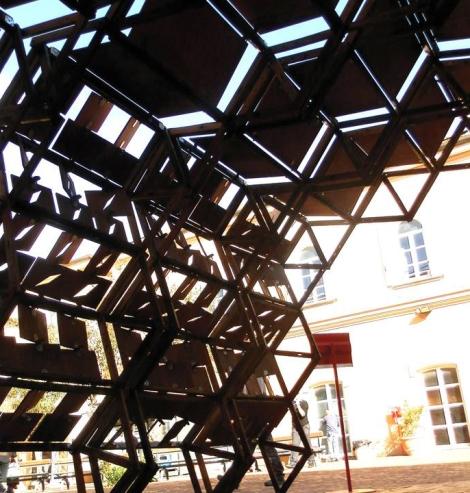 Folding Foyer – progetto realizzato con gli studenti dell'Università Federico II di Napoli e con Urban FabLab