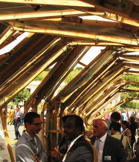 Presentazione dello Smart pavillion for the World Urban Forum / UN Habitat – COdesignLab