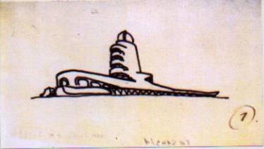 Mendelsohn Eric., Torre Einstein_schizzo fonte: www.archdaily.com