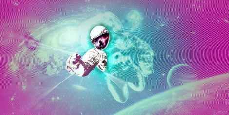#Cosmos cover. Graphic: Valerio Galeone