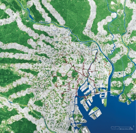 FIG.2 - Tokyo Fibercity 2050