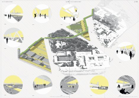 Island of Energy, Venice, Italy. Students: Carlos Alberich and Alvaro Domingo. Courtesy of Israel Alba Architect