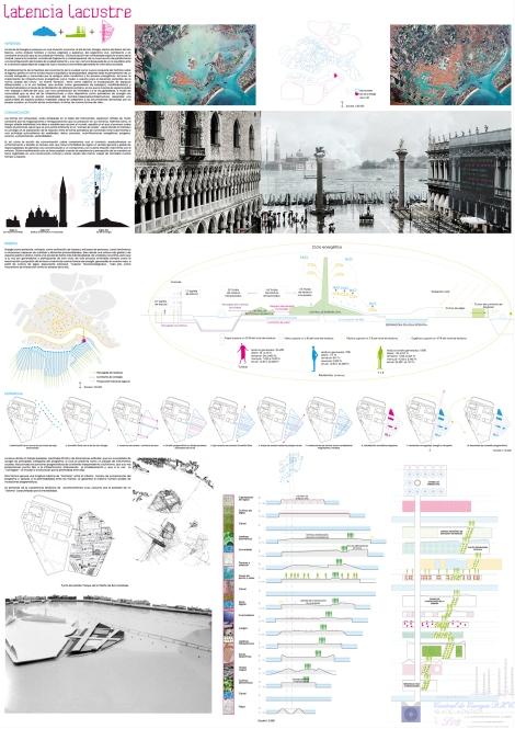Island of Energy, Venice, Italy. Students: Pablo Martinez and Carolina Hernandez