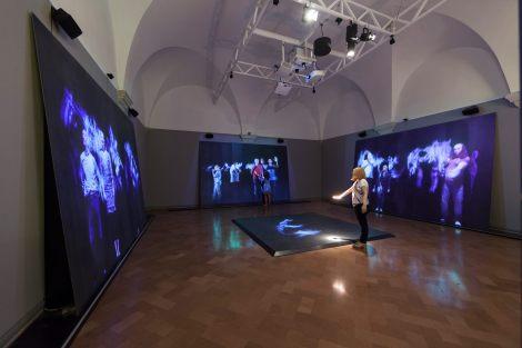 La Sala Studio Azzurro nei Musei Vaticani, Foto Alessandro Prinzivalle © Musei Vaticani.