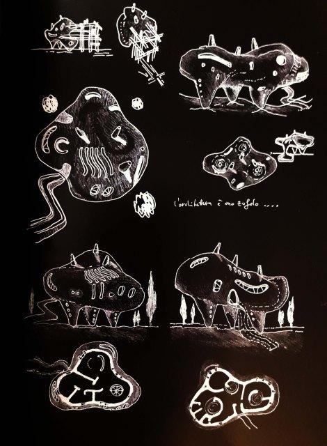 l'architettura è uno zufolo disegni dai taccuini 2000
