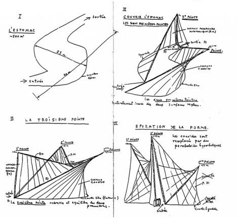 Le-Corbusier-progetto-Padiglione-Philips-Bruxelles-1958-1024x941
