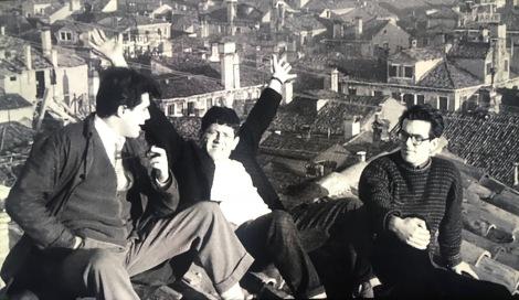 Pratt, Bellavitis, Giancarlo Guarda sui tetti di venezia 1949 ca